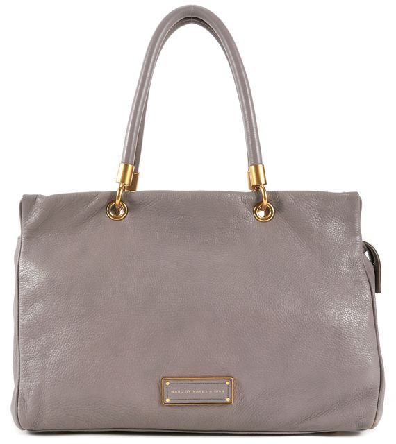 MARC BY MARC JACOBS Mauve Leather Top Handle Tote Bag