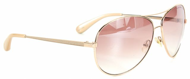 MARC BY MARC JACOBS Gold Tone Frame Pink Gradient Lens Aviator