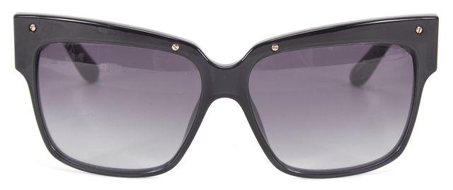 MARC BY MARC JACOBS Navy Blue Acetate Square Gradient Lens Sunglasses