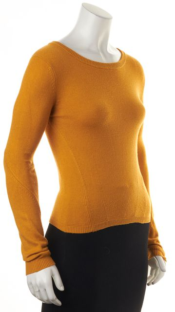 MARC BY MARC JACOBS Mustard Yellow Knit Top