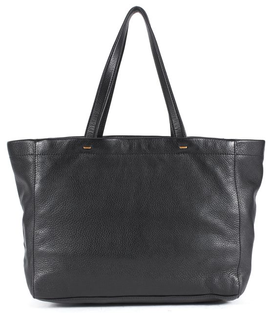 MARC BY MARC JACOBS Black Pebbled Leather Tote