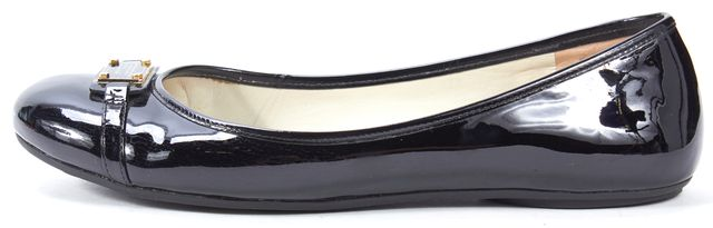 MARC BY MARC JACOBS Black Patent Leather Ballet Flats 38.5