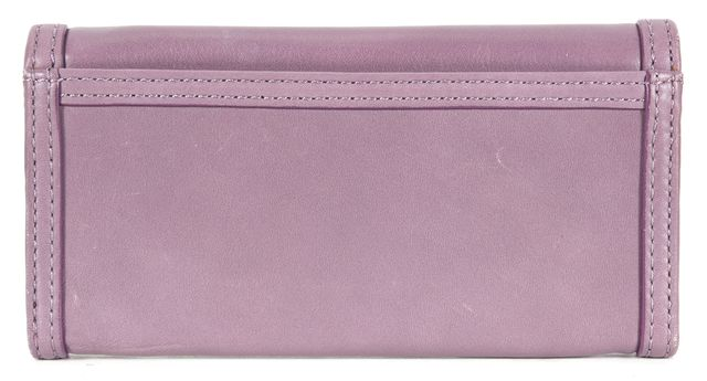 MARC BY MARC JACOBS Lilac Purple Leather Continental Wallet