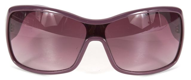 MARC BY MARC JACOBS Purple Acetate Rectangular Sunglasses w/ Case