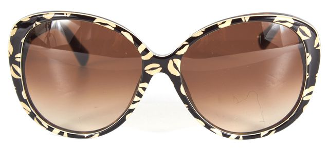 MARC BY MARC JACOBS Black Creme Kiss Print Butterfly Sunglasses
