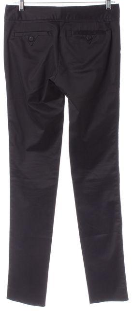 MARC BY MARC JACOBS Black Stretch Cotton Trouser Dress Pants