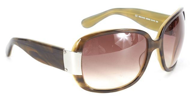 MARC BY MARC JACOBS Sand Beige Acetate Gradient Lens Oversized Square Sunglasses