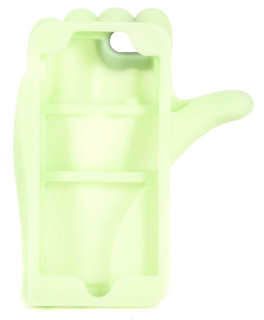 MARC BY MARC JACOBS Lime Green Glow In The Dark Thumbs Up Phone Case