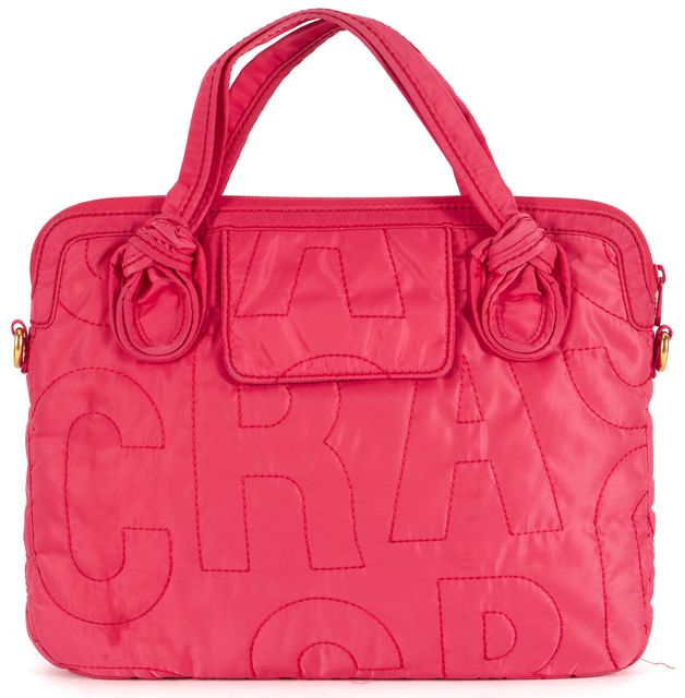 MARC BY MARC JACOBS Hot Pink Pretty Nylon Laptop Case