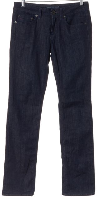 MARC BY MARC JACOBS Blue Patti 002 Mid Rise Straight Leg Jeans