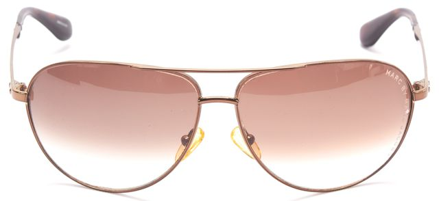 MARC BY MARC JACOBS Bronze Metal Frame Aviator Sunglasses w/ Case