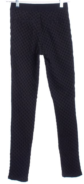 MARC BY MARC JACOBS Black Geometric Casual Pants