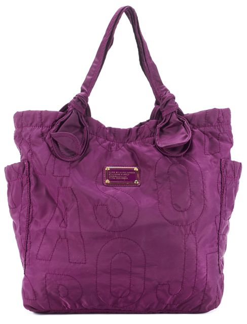 MARC BY MARC JACOBS Purple Nylon Tote
