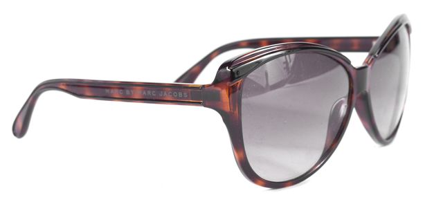 MARC BY MARC JACOBS Brown Tortoise Cat Eye Sunglasses