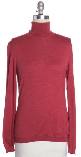 MOSCHINO Pink Turtleneck Sweater