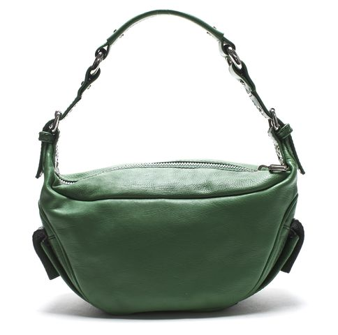 MARC JACOBS Green Small Leather Shoulder Bag