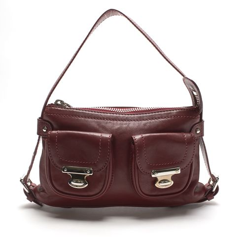 MARC JACOBS Authentic Red Leather Shoulder Bag