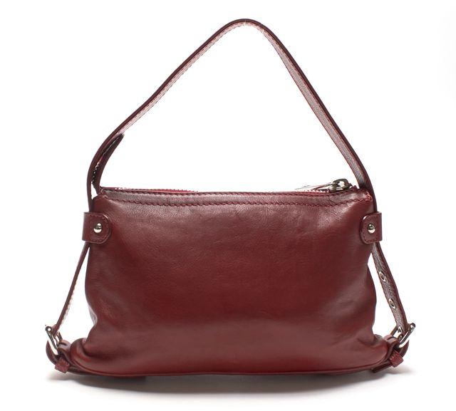 MARC JACOBS Red Leather Shoulder Bag