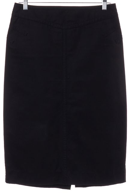 MARC JACOBS Black Straight Skirt