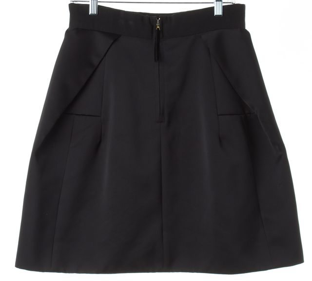 MARC JACOBS Black Knee-Length A-Line Skirt