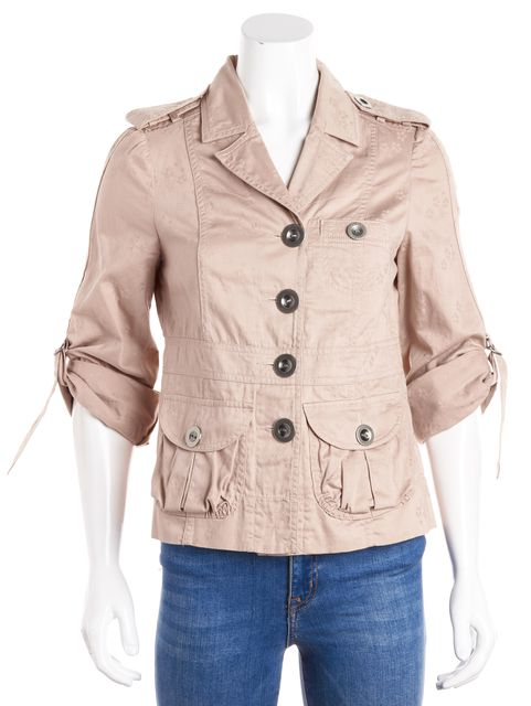 MARC JACOBS Pale Pink Basic Utility Jacket