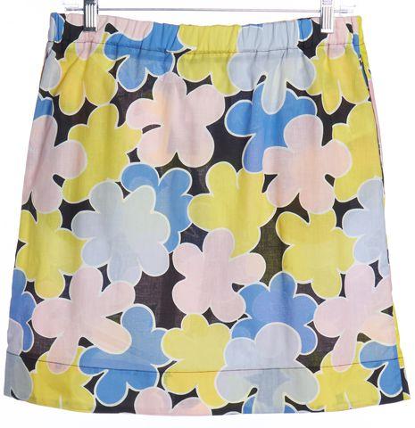 MARNI Multi-color Floral Print Straight Skirt