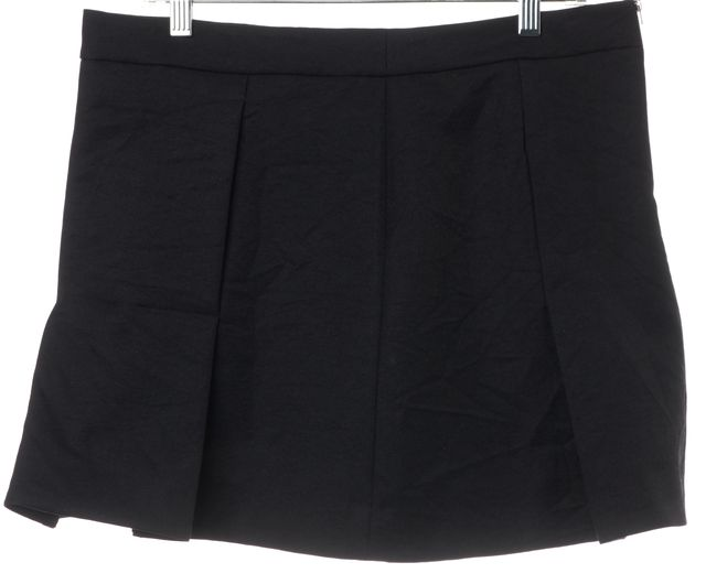 MARNI Black Wool Mini Skirt IT 44 US 8
