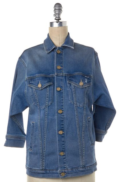 MOTHER Blue The Cronie Jean Jacket