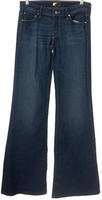 MOTHER Blue Flare Leg The Wilder Jeans
