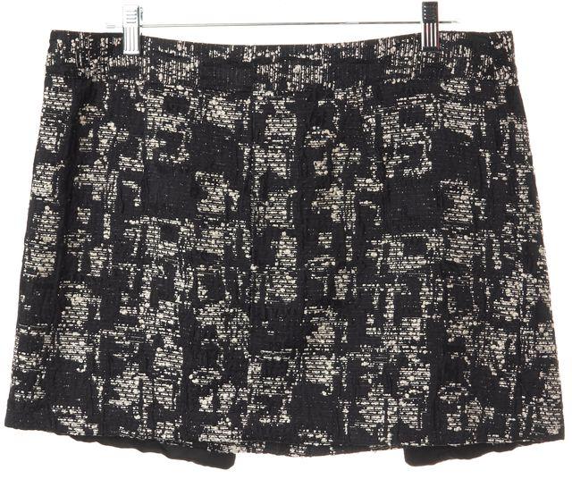 MARISSA WEBB Black Tweed Mini Skirt