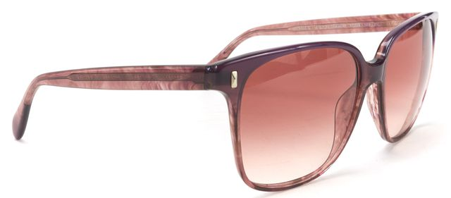 OLIVER PEOPLES Purple Acetate Oversized Square Frame Marmont Sunglasses
