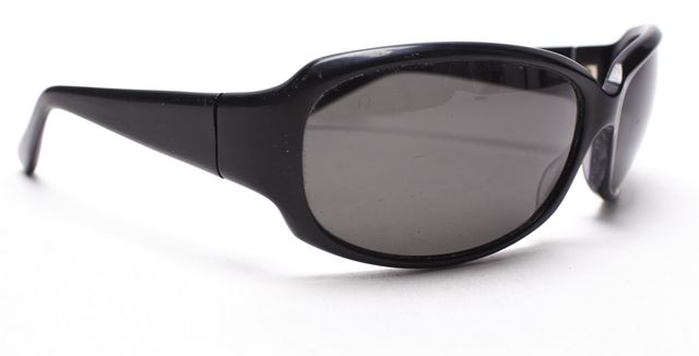 OLIVER PEOPLES Black Rectangular Polarized Kali Sunglasses
