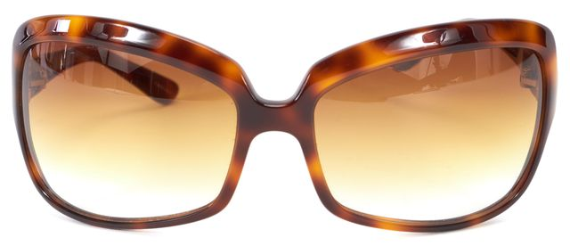 OLIVER PEOPLES Brown Tortoise Gradient Lens Cameo Oversized Sunglasses