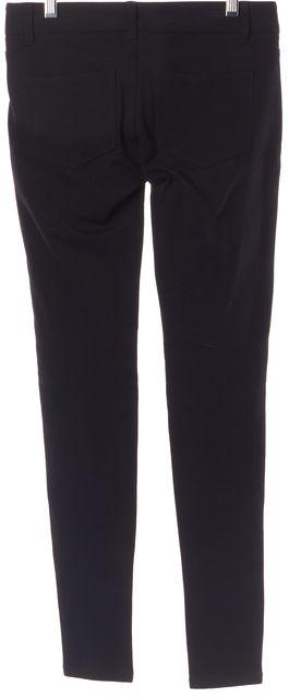 PAIGE Black Slim Fit Casual Pants Skinny Supper Stretch Leggings