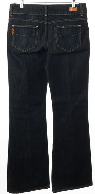 PAIGE Blue Hidden Hills Casual Slim Fit Flare Leg Boot Cut Jeans