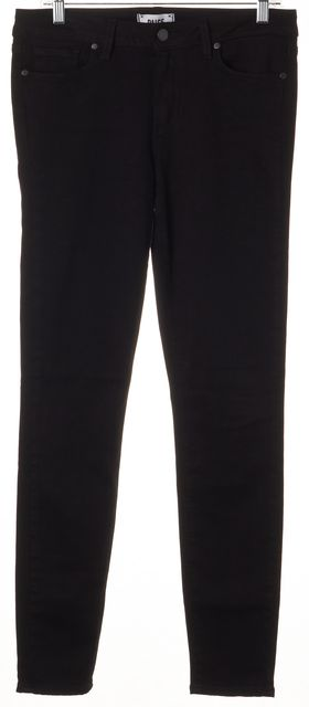 PAIGE Black Stretch Denim Verdugo Ultra Skinny Jeans