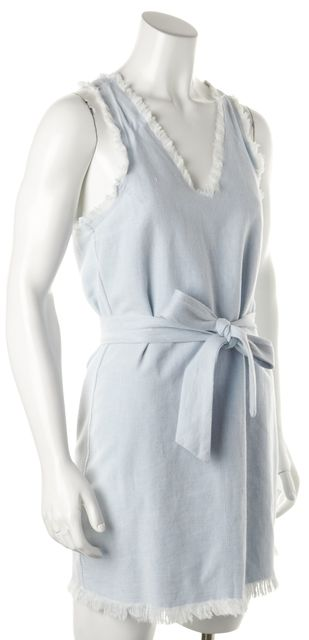 PAIGE Blue Shift Dress