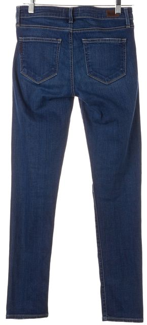 PAIGE Dawson Blue Stretch Cotton Skyline Skinny Jeans