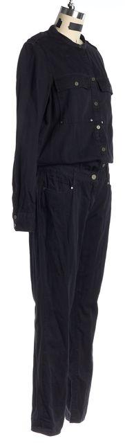 PAIGE Black Long Sleeve Jumpsuit