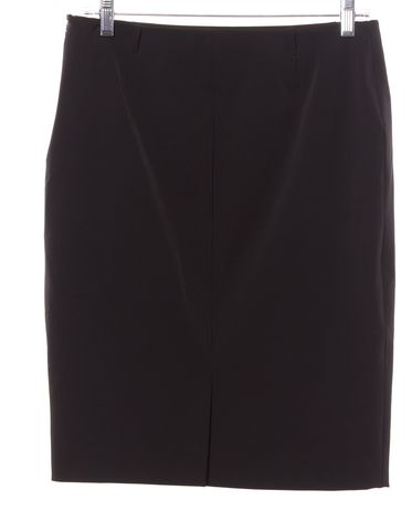 PRADA Black Knee-Length Skirt
