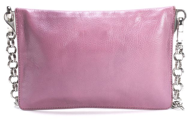 PRADA Purple Leather Small Shoulder Bag