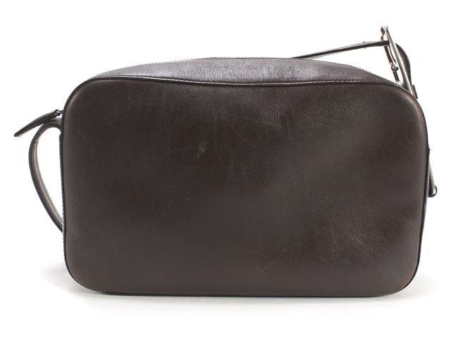 PRADA Brown Leather Crossbody Bag