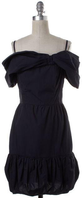 PRADA Navy Blue Bubble Dress