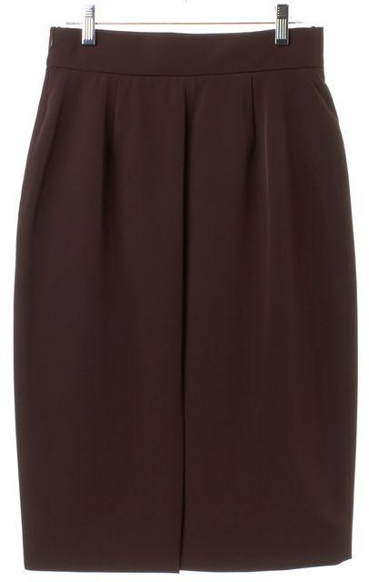 PRADA Plum Purple Pencil Skirt