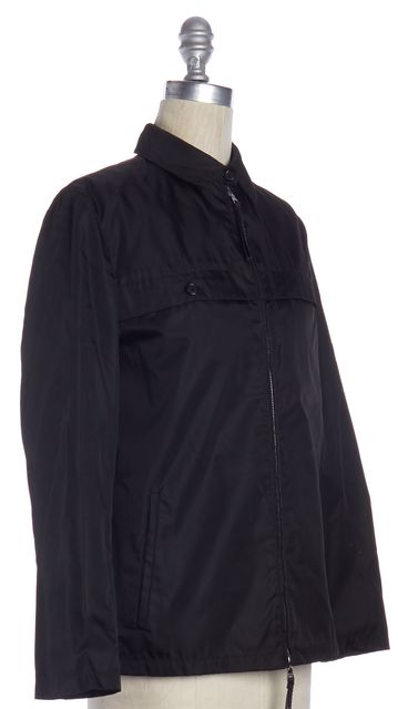 PRADA Black Zip Up Jacket