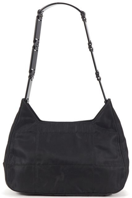 PRADA Black Tessuto Nylon Small Shoulder Bag