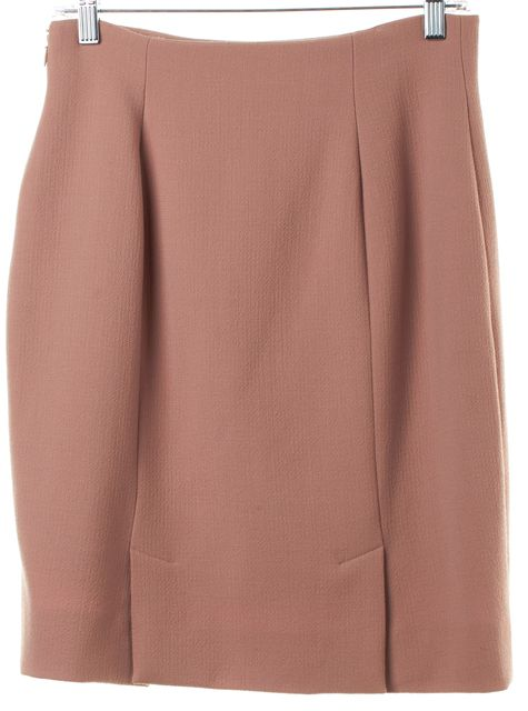 PRADA Pink Wool Pencil Skirt