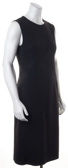 PRADA Black Sleeveless Sheath Dress