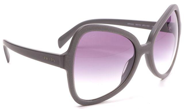 PRADA Gray Acetate Gradient Lens Butterfly Sunglasses