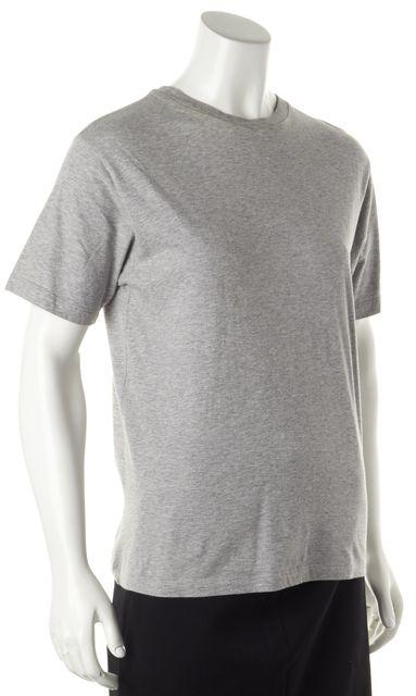 PRADA Gray Short Sleeve Blouse Top